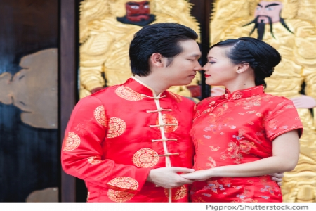 Hochzeitstraditionen in China