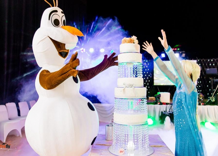 Disney Frozen Wedding Costume Show