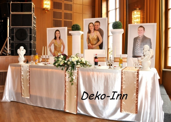 deko inn deutsch russische hochzeitsdekoration dekorateure verleihservice aus balingen. Black Bedroom Furniture Sets. Home Design Ideas