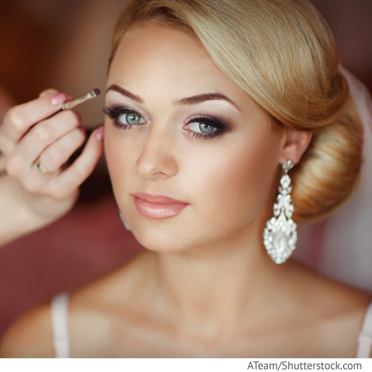 braut make up mit smokey eyes hochzeitsideen f r deutsch russische hochzeiten bei ruswedding. Black Bedroom Furniture Sets. Home Design Ideas